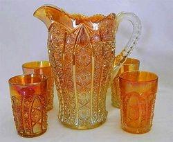 Octagon large size water set, marigold