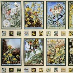 Sunshine Fairies Panel - 75 (COTTON)