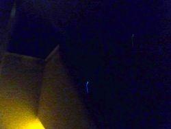 Blue light, unknown.