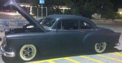 51.53 Chevy Bel Air Business Coupe Rod.