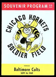1949 Chicago Hornets vs. Baltimore Colts
