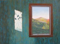 """Mountain Top, oil/canvas, 20 x 24"""""""