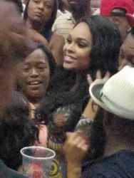 Demetria McKinney at R. Kelly: The Buffet Tour - Time Warner Arena