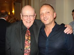 With Frank Williams