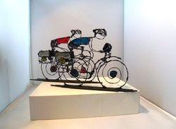 pelgrimsreis op de fiets