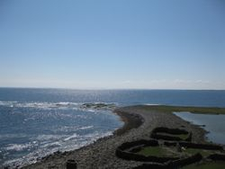 The north end of North Ronaldsay