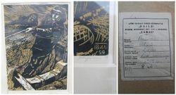 Lino raizinys Zvejai, Vilius Parsinas, 1959 m. Kaina 203