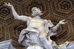 Bernini, S. Andrea, Rome