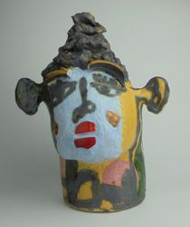 Mary Jones Ceramics.  Working it out.  SOLD
