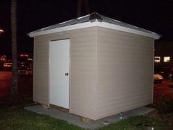 Custom 9x9 hip roof