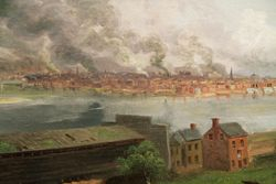 Smith, Pittsburgh Fifty Years Ago, 1884, Carnegie-Mellon Museum, Pittsburgh