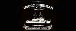 USCGC Sherman Black tee-shirt