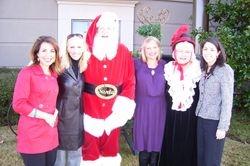 Santa & Mrs. Claus with NBC 13 Crew