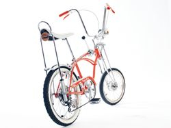 1968 Orange Krate wiht Knobby rear tire