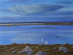 "Arctic Places (18 by 24"" oil on canvas)"