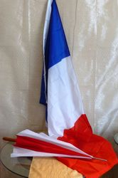 Umbrella and French Flag