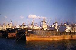 363 Ships Graveyard Piraeus Greece