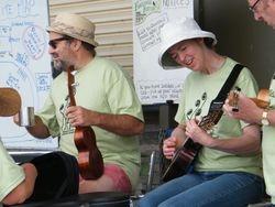 Musical Leaders James and Jane jamming away
