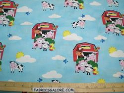 Barns & Farm Animals - 43  (COTTON)