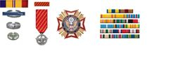 If you were awarded any of these & they are listed on your DD-214 you are eligible to join the VFW