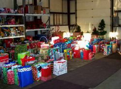 2013 Angel Tree gifts