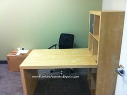 ikea expedit desk installation service in herndon VA