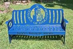 UK College of Education Bench