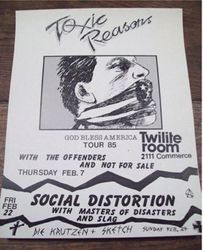 1985-02-07 Twilight Room, Dallas, TX