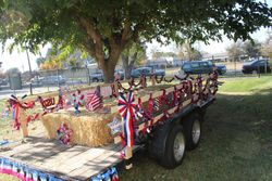Trailer almost completely decorated