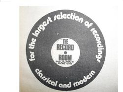 Sticker of The Record Room Christchurch
