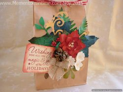 Frayed Flowers and Festive Foliage Template