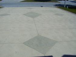 Diamond Design Duo Tone Driveway