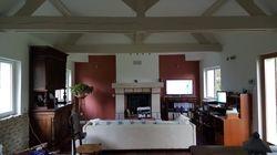 Travaux de remise en êta des murs, plafonds, et sols