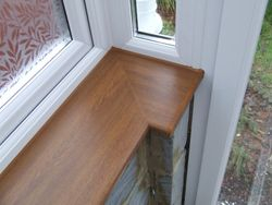 Golden Oak Window Board