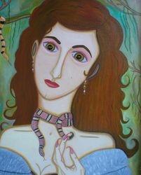 Gloria Valdes (self-portrait)