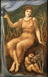 Burne-Jones, Earth Mother, 1882, Worchester Art Museum