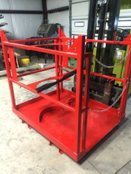 Custom Built Hoist Baskets