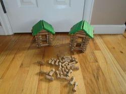 Maxim Enterprise Tumble Tree Timbers 143-Piece Log Building Set - $10