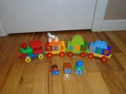 LEGO DUPLO Number Train #10558 - $10