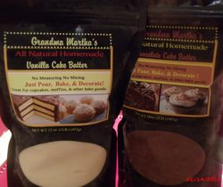 Gandma Martha's cake batter
