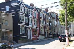 Saint John's street scene