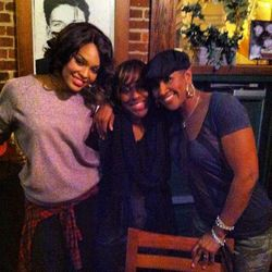 Demetria McKinney, Shalae & Terri J. Vaughn Out For Karaoke Night!