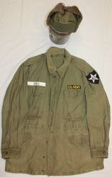 2nd Inf. Korea, Fatigue Jacket 50's: