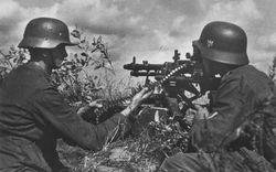 Maschinengewehr-34 in Heavy Role: