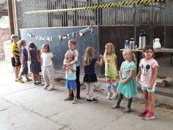 Siegerehrung Kinderstationen