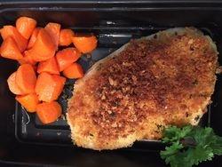 Seared Chicken Breast with Cajun Seasoning