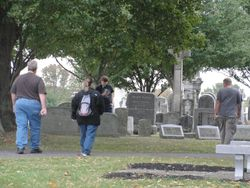 Evergreen Cemetery Investigation
