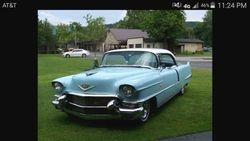 5. 56 Cadillac Hard Top Sedan