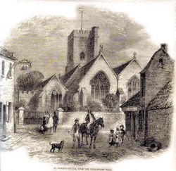 Historic picture of St Peters Village