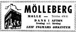 Hotell Molleberg 1964